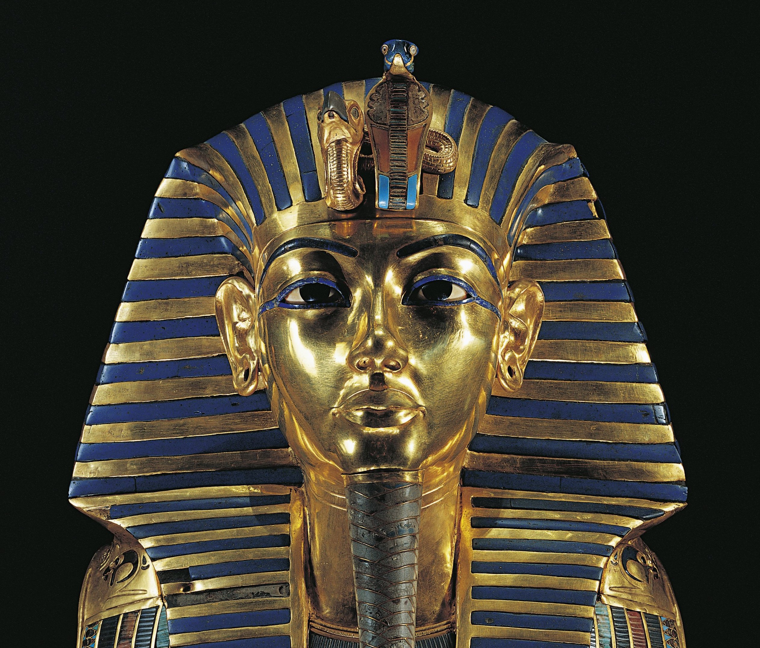 Photo of Tutankhamen's mask