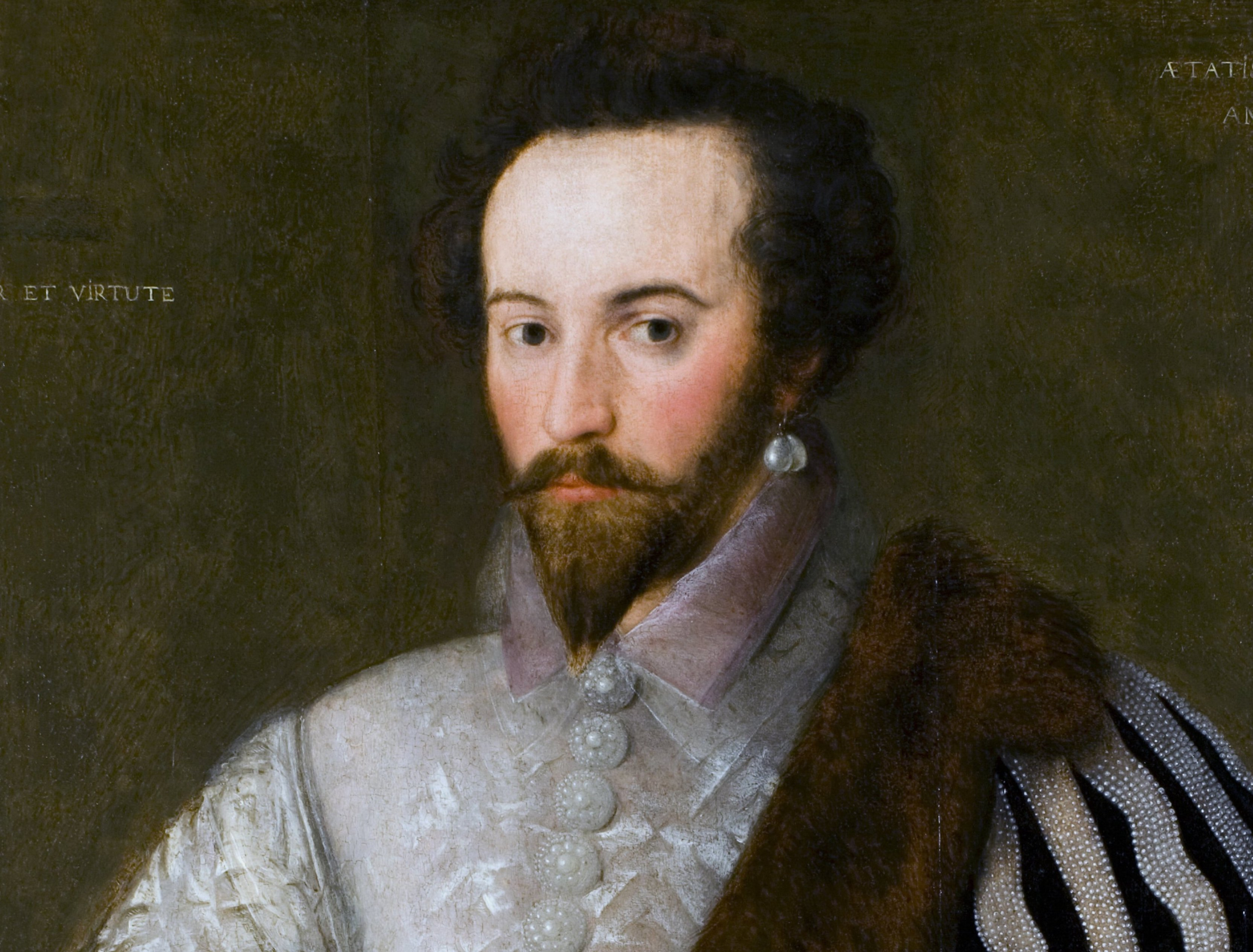 Painting of Walter Raleigh