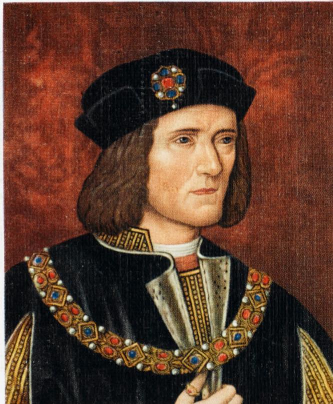 KING RICHARD III OF ENGLAND (1452 - 1485) Reigned 1483 - 1485
