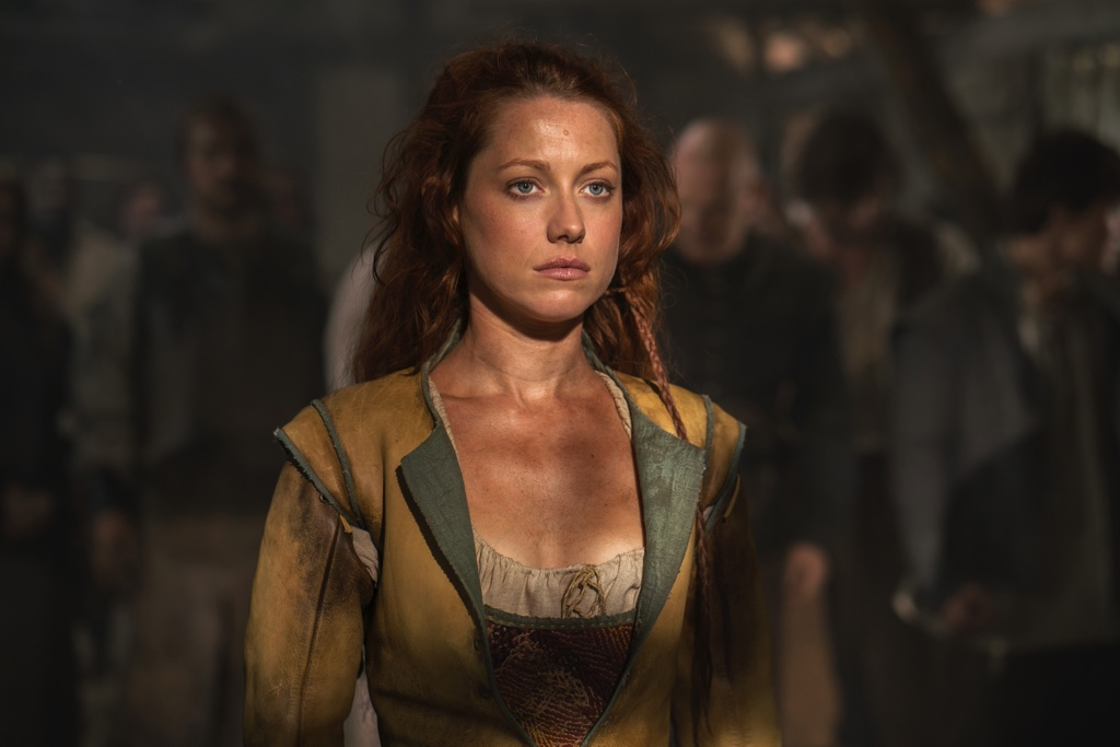 Niamh Walsh as Verity Bridges in Jamestown