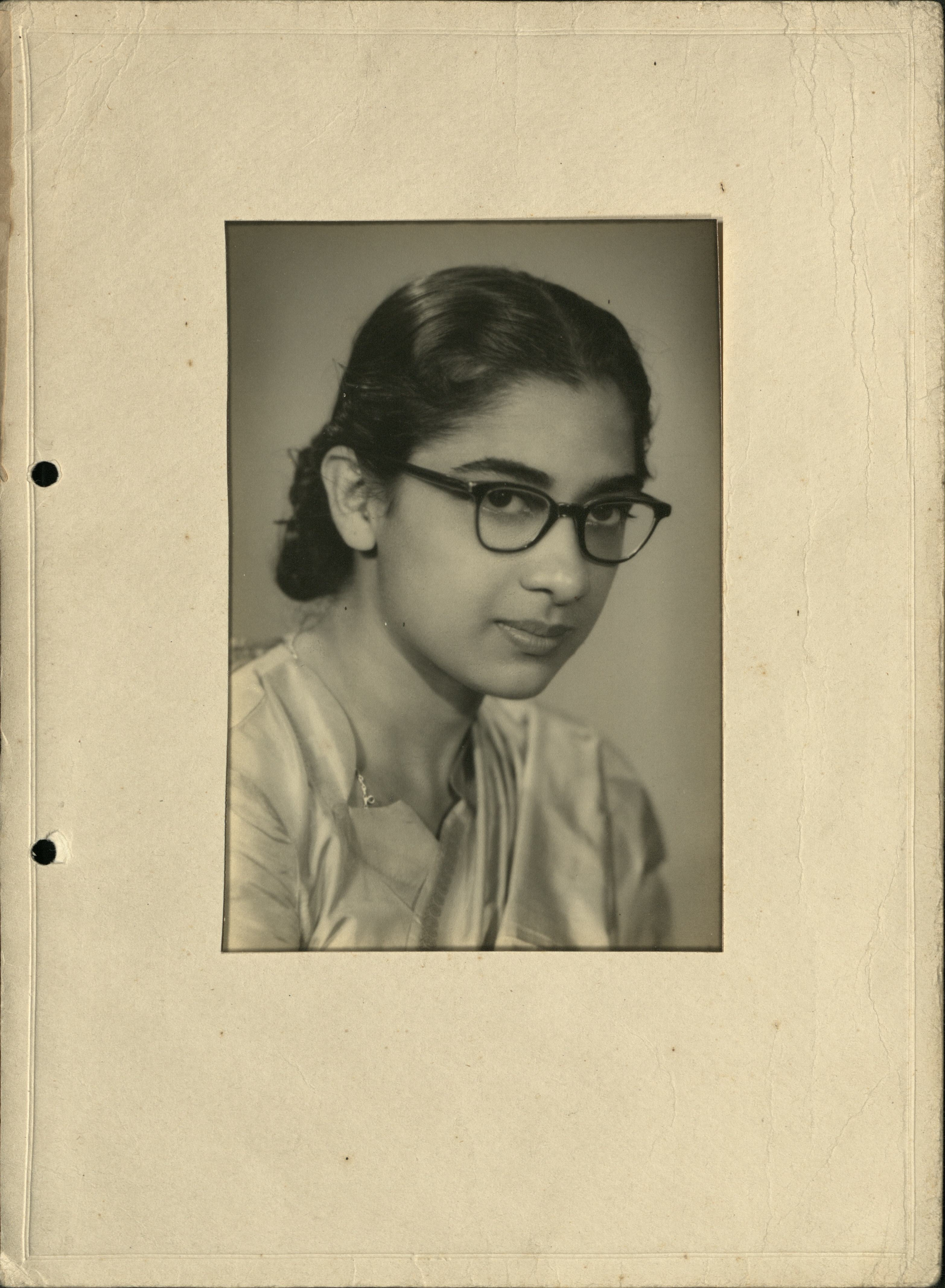 Photograph of Uma Halder from the exhibition: Hidden in plain sight: Celebrating nursing diversity