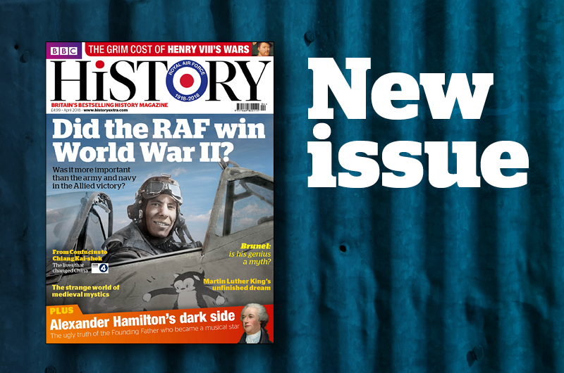 April 2018 issue of BBC History Magazine