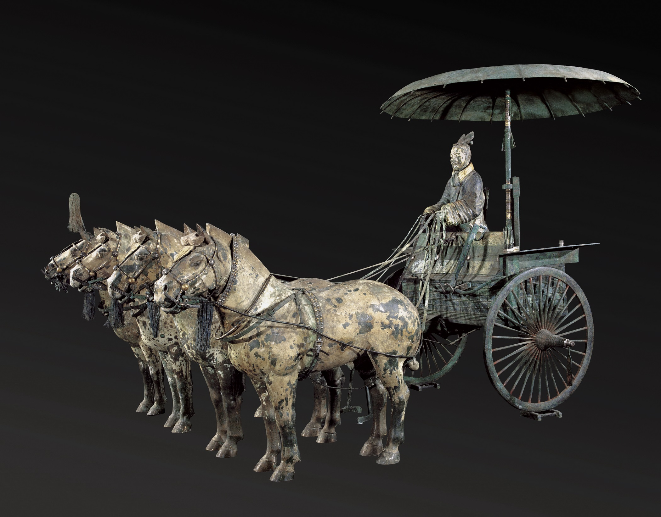 Replica chariot. (© Mr. Ziyu Qiu)