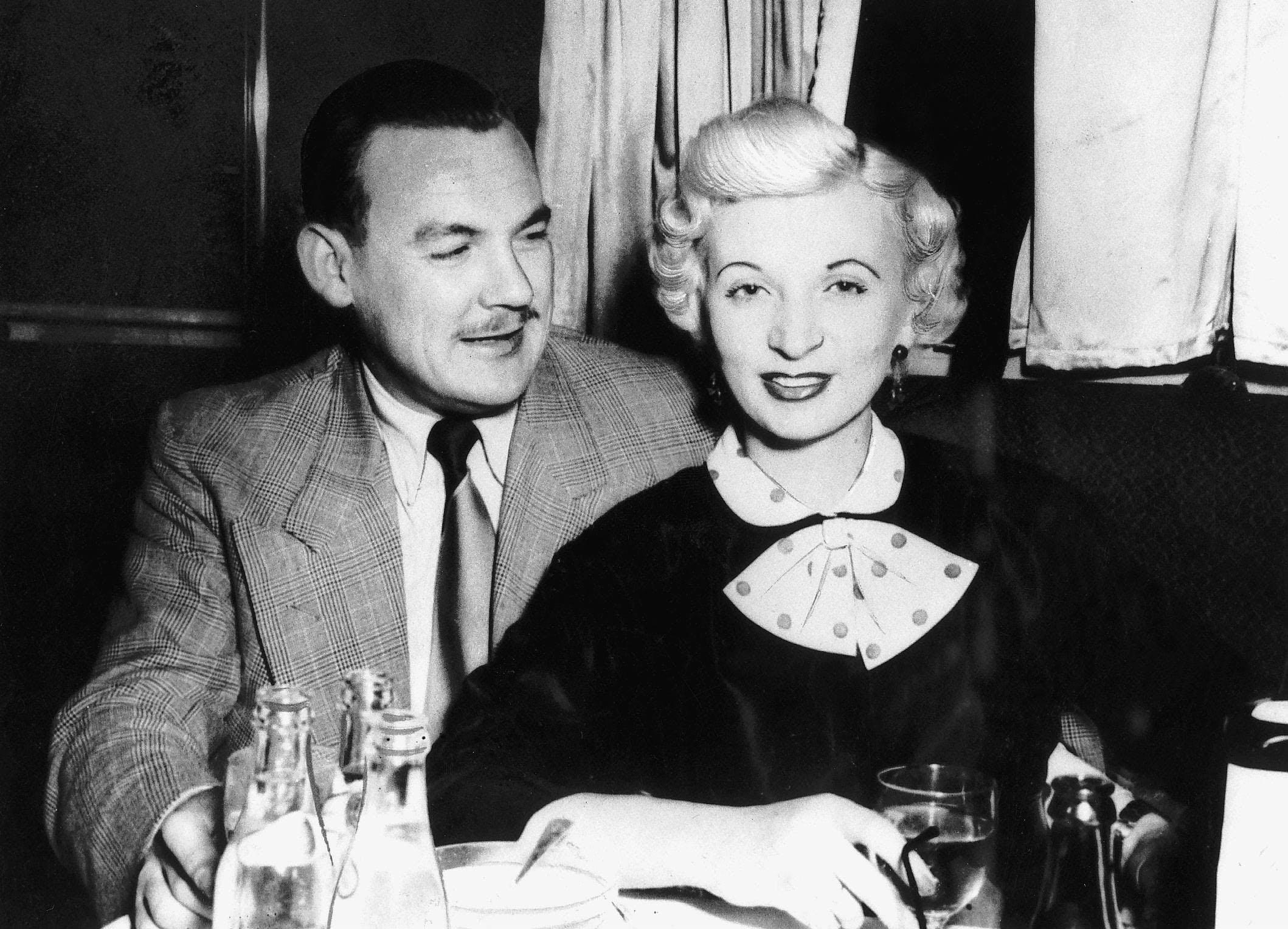 Ruth Ellis and her friend Desmond Cussen