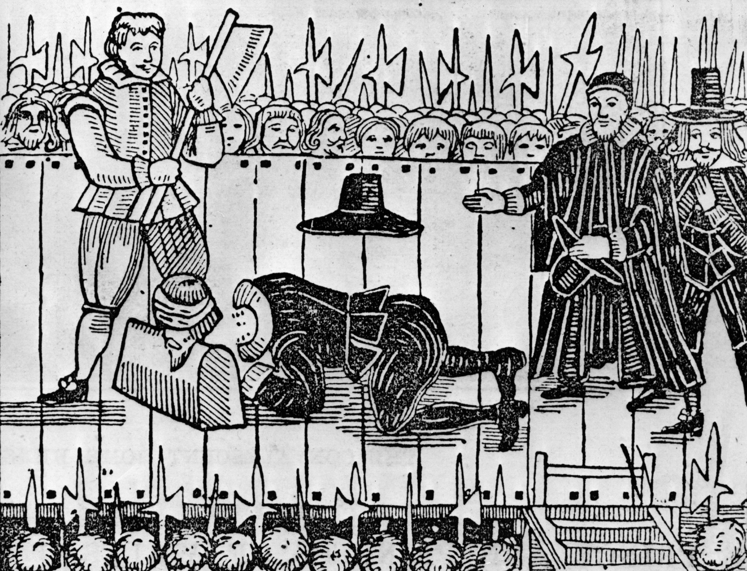 """For those of noble birth who were condemned to die, execution by beheading (which was considered the least brutal method of execution) was used until the 18th century,"" says Seal. (Hulton Archive/Getty Images)"