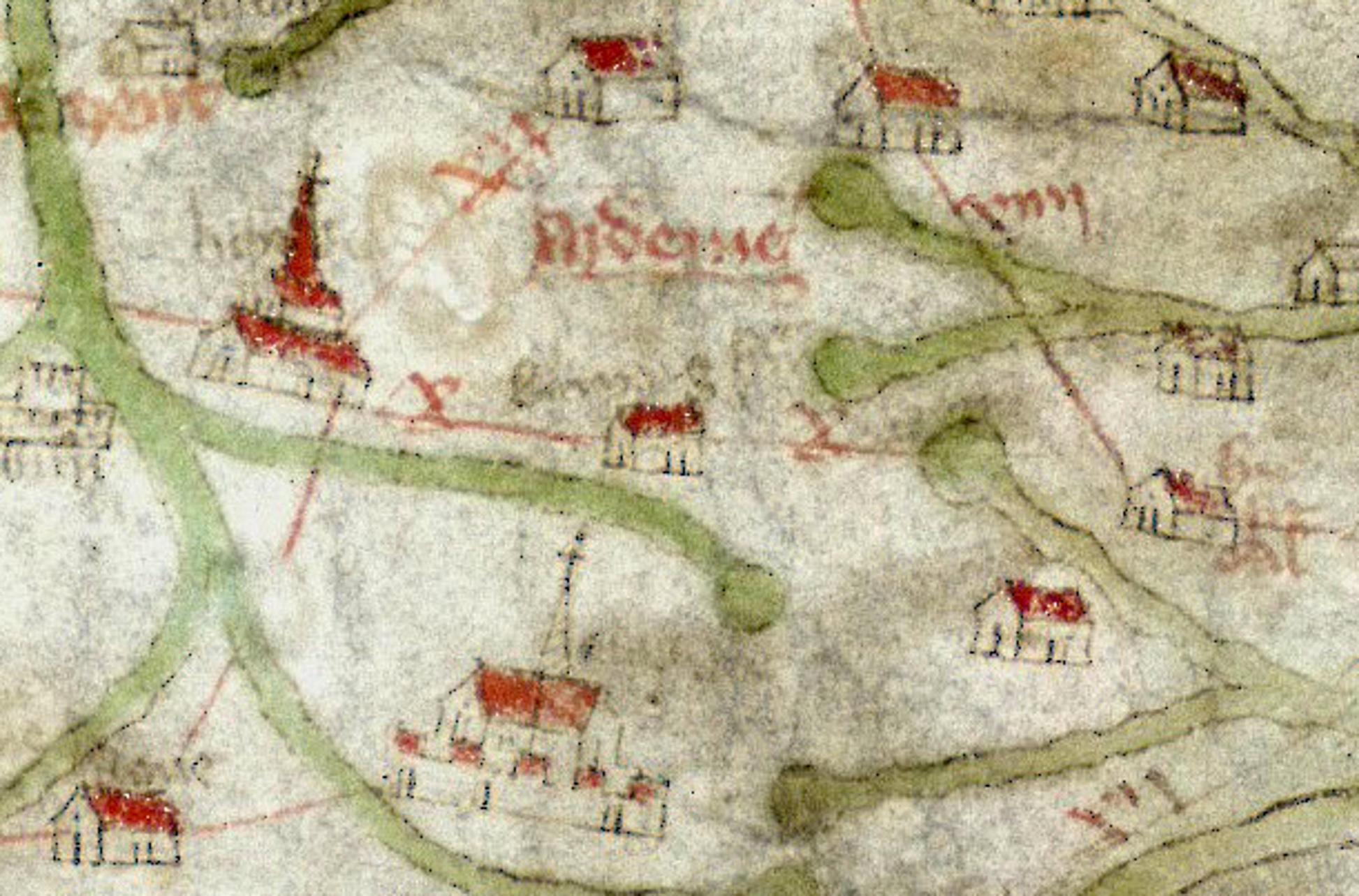 The 14th-century Gough Map