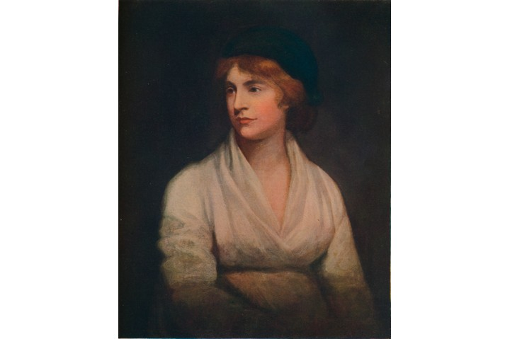"""She had the vision of women leading lives every bit as full as any man,"" says Jeremy Corbyn of Mary Wollstonecraft. (Photo by The Print Collector/Getty Images)"
