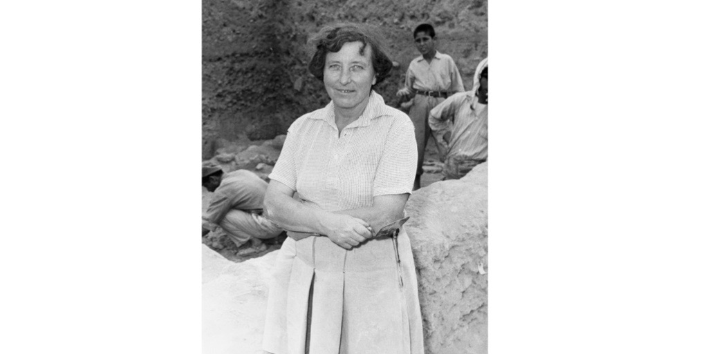 Kathleen Kenyon challenged biblical accounts with her pioneering work at the ancient city of Jericho. (Photo by Bettmann/contributor via Getty Images)