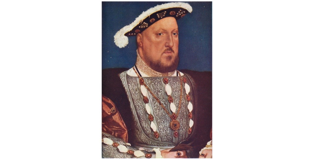 Hans Holbein the Younger's portrait of Henry VIII, c1537. Henry's clash with the church was, says George Bernard, the most significant episode of the Tudor era and transformed England's relationship with continental Europe. (Photo by Print Collector/Getty Images)