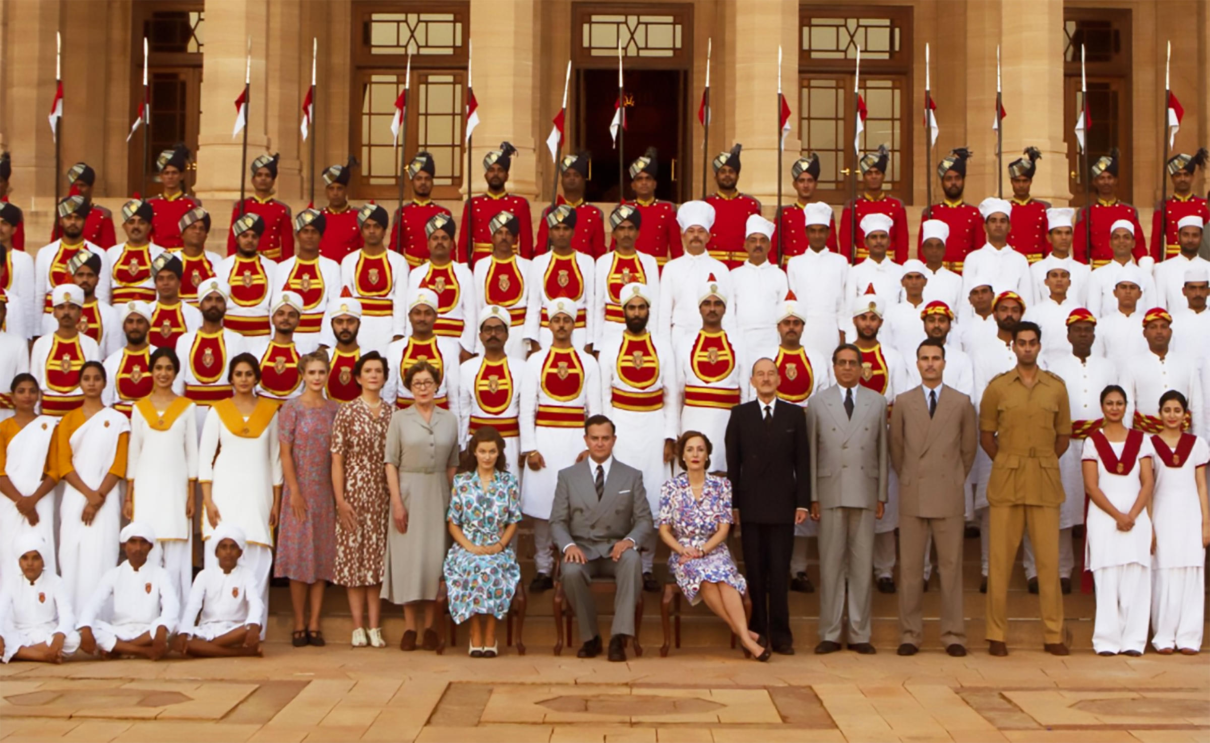 A still from the 2017 film Viceroy's House