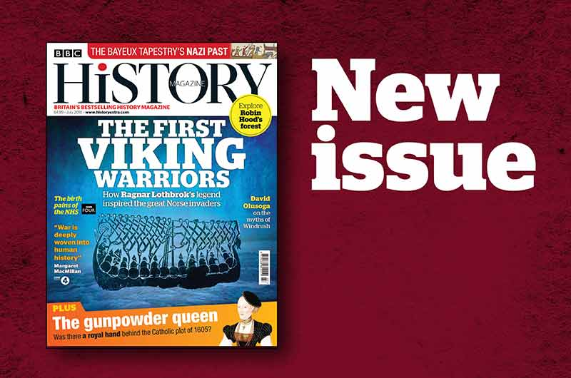 July 2018 issue of BBC History Magazine