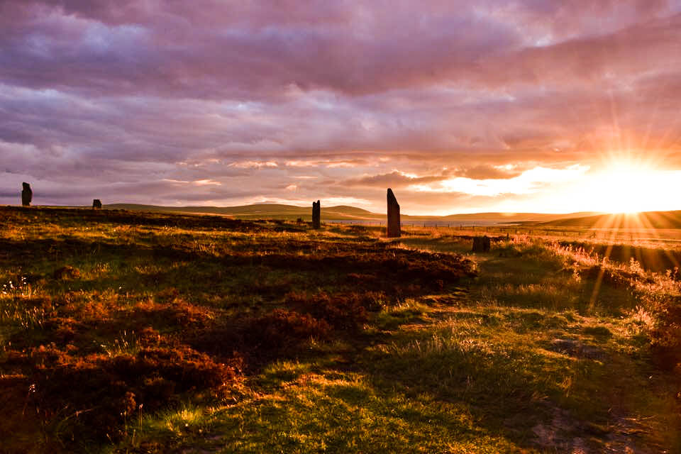 Ring of Brodgar henge and stone circle, Orkney Isles By Rachel Glaves - Mirfield, UK (top shot)