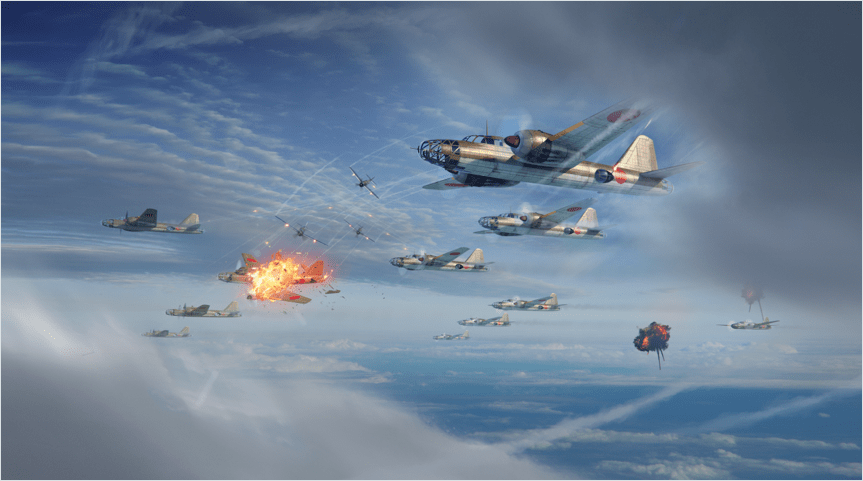 War Thunder action screenshot