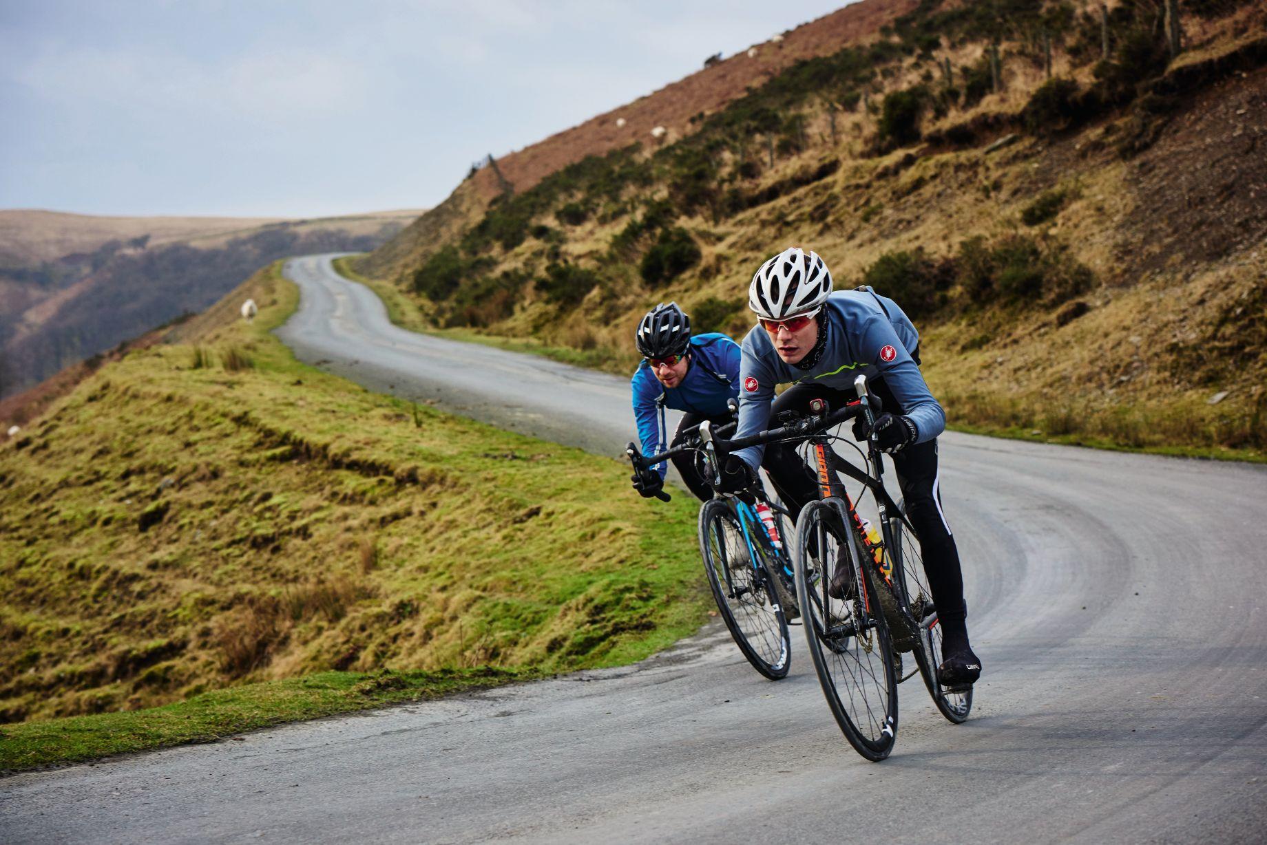 giant road bike versus giant e bike
