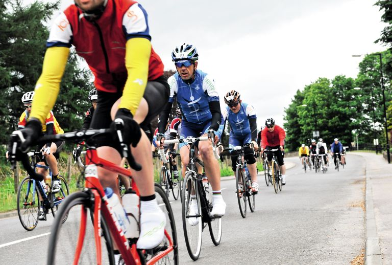 Riders in a sportive