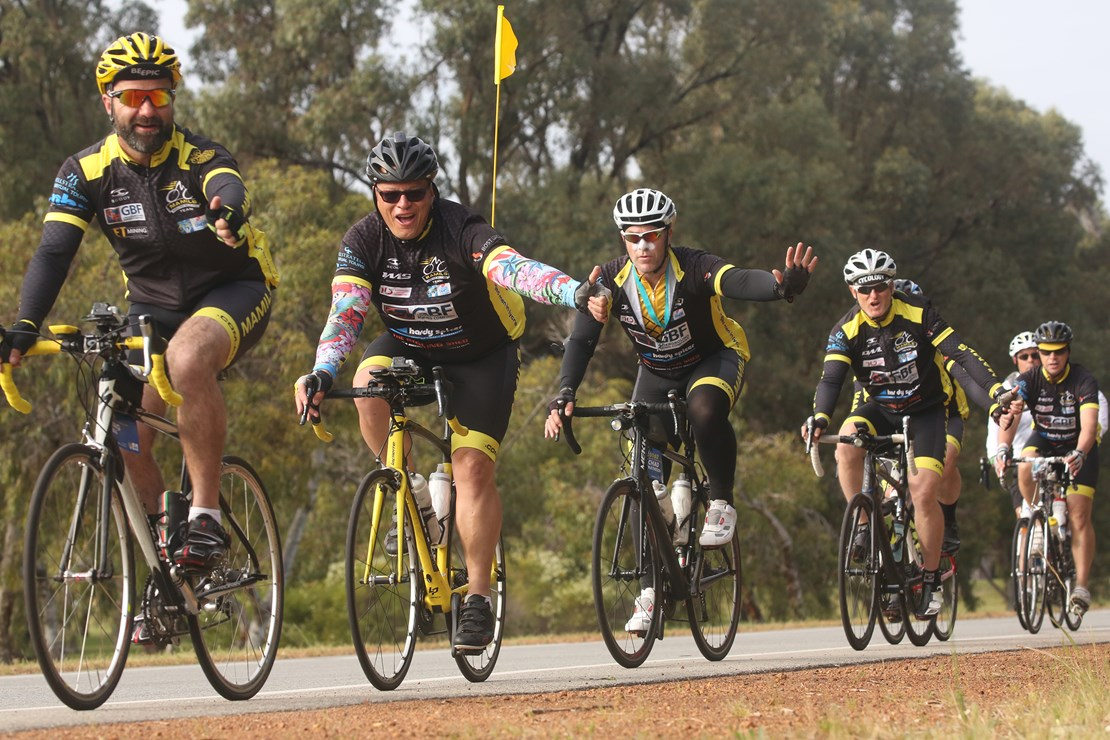 A scene from MAMIL a new documentary about middle aged men in Lycra
