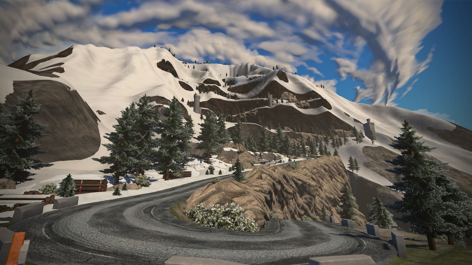 Zwift's new Alpe d'Huez climb