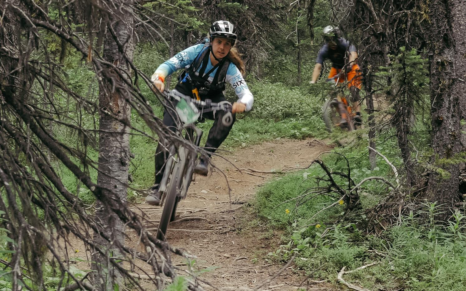 Fresh, amazing trails. Traharn loved the Trans BC Enduro! Credit: Garret Van Swearingen