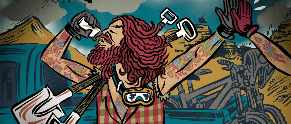 Illustration of freerider