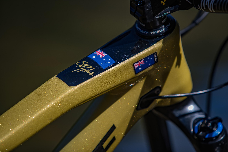 Aussie Aussie Aussie, Oi Oi Oi! Photo: Fraser Britton