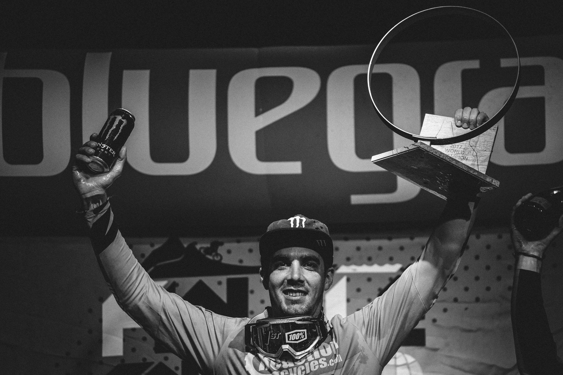 Sam Hill wins the 2017 overall Enduro World Series title